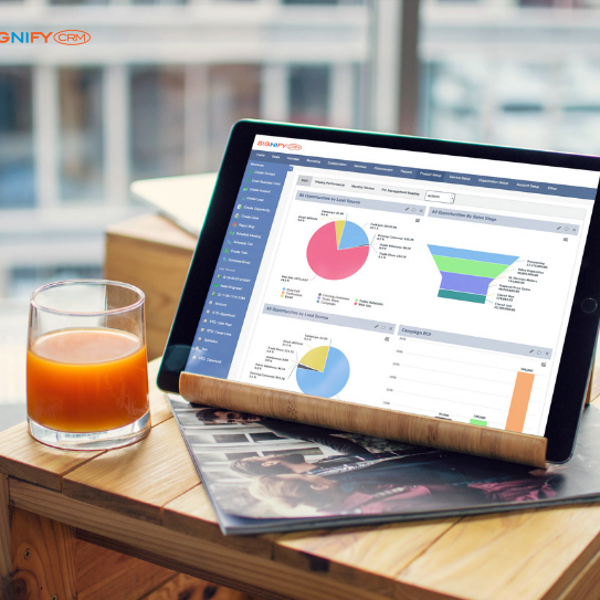 SignifyCRM with Charts